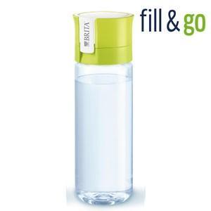 BRITA fill&go 0.6L ブリタ フィル&ゴー ボトル型浄水器(カートリッジ1個付属)カラー:ライム|koyama-p