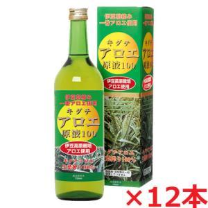 キダチアロエ原液100 720ml×12本・静岡県伊豆のキダチアロエエキス
