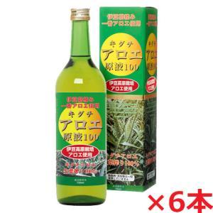 キダチアロエ原液100 720ml×6本・静岡県伊豆のキダチアロエエキス