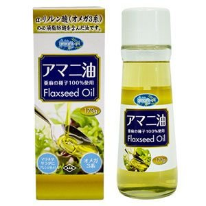 アマニ油 170g(亜麻仁油)4560132322167|koyama-p