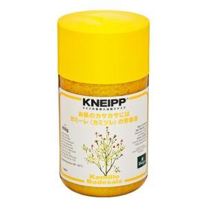 KNEIPP クナイプはドイツが生んだハーバルブランド。カミーレの花言葉は「逆境における活力」と「忍...