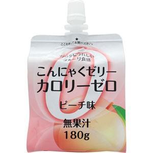 ファイトマン蒟蒻ゼリーカロリーゼロ(ピーチ)180g(こんにゃくゼリー)|koyama-p