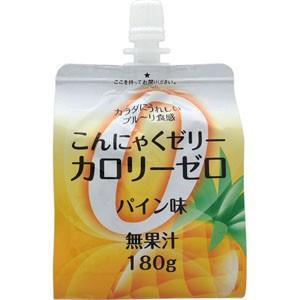 ファイトマン蒟蒻ゼリーカロリーゼロ(パイン)180g(こんにゃくゼリー)|koyama-p