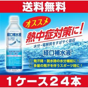 経口補水液 500mL×24本 熱中症対策に!|koyama-p