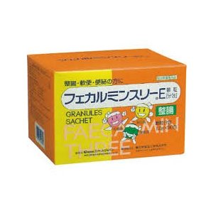フェカルミンスリーE 1.2g×90包【医薬部外品】納豆菌末、乳酸菌末、酪酸菌末を配合・整腸、軟便、便秘の方に|koyama-p