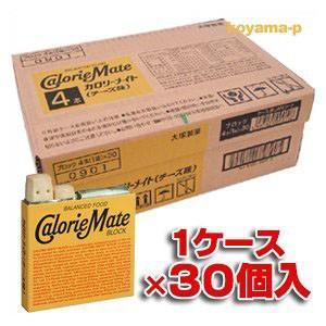カロリーメイトブロック チ−ズ味 1箱4本入×30個