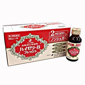 ゼリア新薬 ハイゼリーBフレッシュ 100ml×10本 【第2類医薬品】|koyama-p