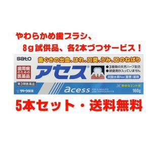 佐藤製薬 アセス 160g×5個【第3類医薬品】
