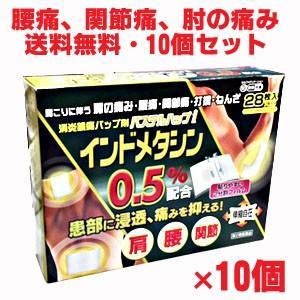 お買得インドメタシンシップ薬(湿布薬) 冷感パステルハップi 28枚×10個(14cm×10cm)