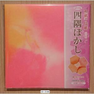 椿の折り図つき  サイズ:150×150mm 6色調 36枚入り  <メーカー:ショウワグリム>