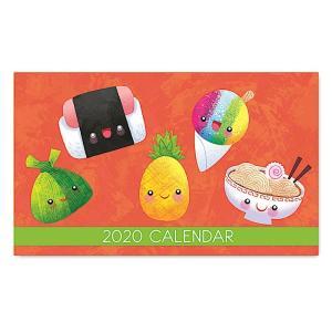 2020年ハワイカレンダー(ミニサイズ)ハワイアンダイアリー/スケジュール帳/マンスリーカレンダー Ono Party オノ・パーティー|koyomi10