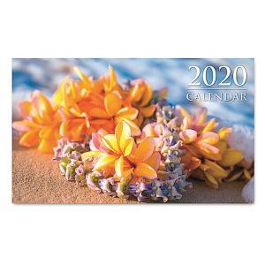 送料無料! 2020年 アイランドヘリテイジ社製 ハワイカレンダー(ミニサイズ)ダイアリー/スケジュール帳 Lei on the Beach 浜辺のハワイアンレイ|koyomi10