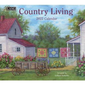 送料無料!2021年 ラング社カレンダー Country Living  カントリー・リビング Colleen Eubanks|koyomi10