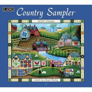 送料無料!2021年 ラング社カレンダー(Lang) Country Sampler  カントリー・サンプラー|koyomi10
