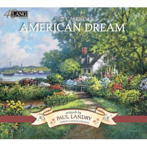 送料無料!2021年 ラング社カレンダー American Dream  アメリカン・ドリーム Paul Landry|koyomi10
