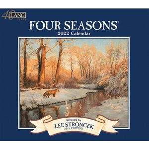 送料無料!2021年 ラング社カレンダー(Lang) Four Seasons   フォー・シーズン Lee Stroncek|koyomi10