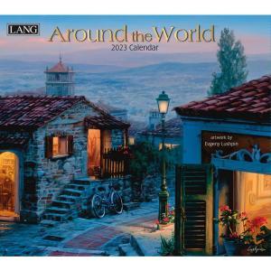 送料無料!2021年 ラング社カレンダー Around The World  アラウンド・ザ・ワールド  Evgeny Lushpin|koyomi10