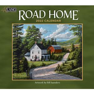 送料無料!2021年 ラング社カレンダー(Lang) Road Home  ロード・ホーム Bill Saunders|koyomi10