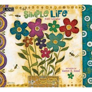 送料無料!2021年 ラング社カレンダー Simple Life  シンプルライフ Karen H. Good|koyomi10