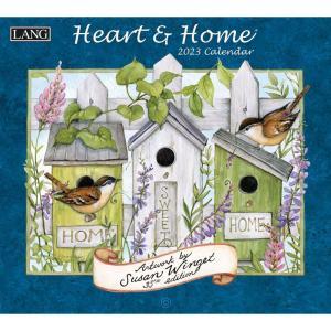 送料無料!2021年 ラング社カレンダー The Lang Heart & Home ハート& ホーム Susan Winget|koyomi10