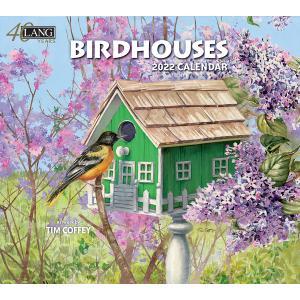 送料無料!2021年 ラング社カレンダー Birdhouse  バードハウス Tim Coffey|koyomi10