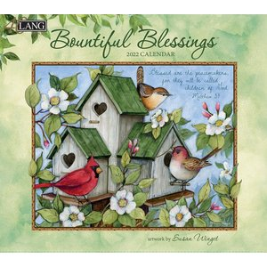 送料無料!2021年 ラング社カレンダー Bountiful Blessing  バウンティフル・ ブレッシング Susan Winget|koyomi10