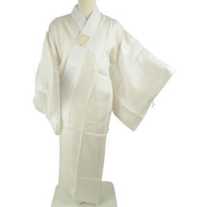 bai お仕立て上がり 半衿付 夏用 正絹 絽 長襦袢 白 M Lサイズ|koyuki