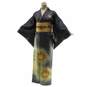 お仕立て上がり 正絹 訪問着 着物 単品 身丈163.5cm sh-1|koyuki