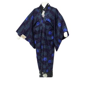 着物用 長羽織 紫系 M・Lサイズ co-7|koyuki