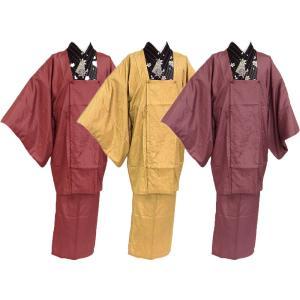 雨コート はっ水・シワ加工済み ケース付 携帯に便利 和装 二部式雨コート 全3色 ni-15|koyuki