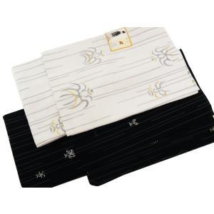 訳あり 紳士用 花夢二 袷 あわせ  着物 羽織 2点セット 洗えるきもの L LLサイズ pk-3 白羽織に黒着物|koyuki