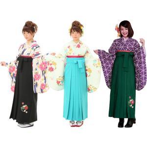セール 二尺袖 着物 刺繍入り 袴 セット 全17タイプ haki-20 矢絣 椿 麻の葉 梅 koyuki