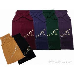 はかま さくら刺繍 袴 単品 全4色 SS〜LLサイズ hs-58 koyuki