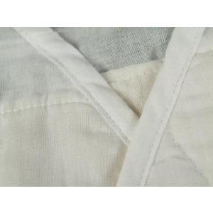 あしべ織 汗取肌着 和装肌着 脇パッド付き 半襦袢 M・L・LLサイズ|koyuki|03