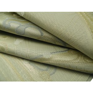 京 西陣高級袋帯 聖涼織成帯 美波里 夏用 正絹 袋帯 na-13 アイボリー系 お仕立て付き|koyuki|02