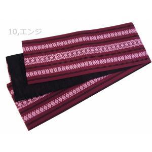 細帯 半幅帯 献上柄 リバーシブル 日本製 全3色 ho-3|koyuki|04