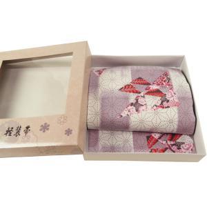 お洒落用 簡単つけ帯 軽装帯 淡紫系 市松 麻の葉柄 tp-40|koyuki