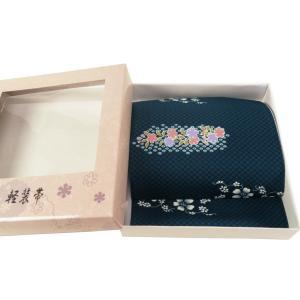 お洒落用 簡単つけ帯 軽装帯 濃紺系 市松 絞り柄 tp-41|koyuki