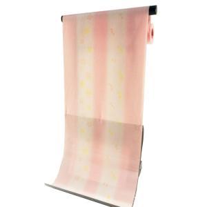 ssi 丸洗いできる ポリエステル 長襦袢 反物 変わり織生地使用 淡ピンク jp-15|koyuki