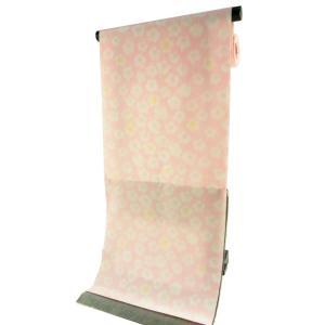 ssi 丸洗いできる ポリエステル  長襦袢 反物 変わり織生地使用 淡ピンク jp-17|koyuki