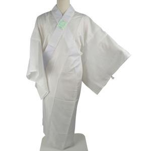 長襦袢  お仕立て上がり 半衿付 夏用 絽 長襦袢 白 M・Lサイズ np-9|koyuki