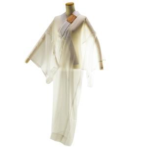 長襦袢 お仕立て上がり 半衿付 夏用 長襦袢 白 袋おくみ仕立 Lサイズ np-11 茶ラベル 日本製|koyuki