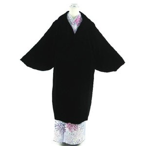 AGEHARA アゲハラ 高級ベルベット 和装用 へちま衿コート M/L/LLサイズ|koyuki
