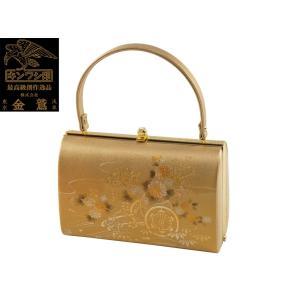 金鷲 礼装用 きものバッグ ラデン入り 和装バッグ ハンドバッグ ba-384|koyuki