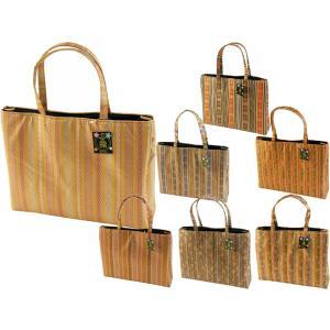 金襴 手提げバッグ 和装バッグ トートバッグ 日本生地 全7柄 ki-478|koyuki