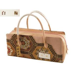 白梅 つづれ織使用 利休バッグ 手提げ ハンドバッグ ri-381|koyuki
