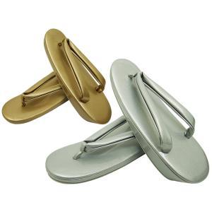ssi 礼装用 合皮 草履 ゴールド・シルバー S・F・LLサイズ 全2色3サイズ zr-627|koyuki