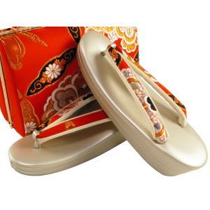 振袖用 正絹帯地 金刺繍入り 草履バッグセット フリーサイズ sr-353 koyuki 04