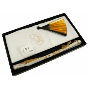紋意匠 縫取 留袖用 汕頭 スワトウ 刺繍 帯揚げ・帯締め・扇子・亀 4点セット 扇 su-220 koyuki
