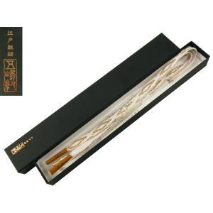 五嶋 留袖用 正絹 白 帯締め 手ぐみ 日本製 単品 ss-150|koyuki